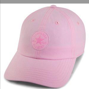 f026fd0581f Converse Accessories - Converse ⭐ Monotone Core Baseball Cap Pink NWT